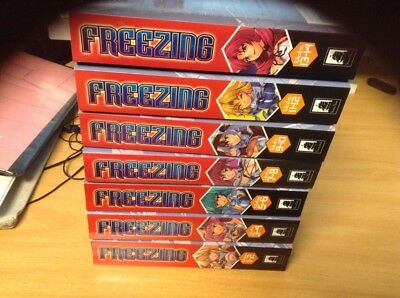 FREEZING VOL 1 - 14 Run Manga Lot English Collection SEVEN SEAS