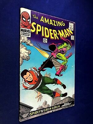 Amazing Spider-Man #39 (1966 Marvel Comics) 1st John Romita Sr Art on title