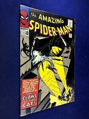 Amazing Spider-Man #30 (1965 Marvel Comics) 1st appearance the Cat NO RESERVE