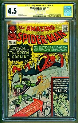 Amazing Spider-Man #14 1964 Marvel 1st appearance Green Goblin Stan Lee CGC 4.5