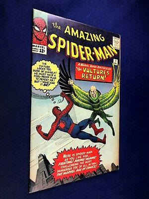 Amazing Spider-Man #7 (1963 Marvel Comics) The Vulture appearance NO RESERVE
