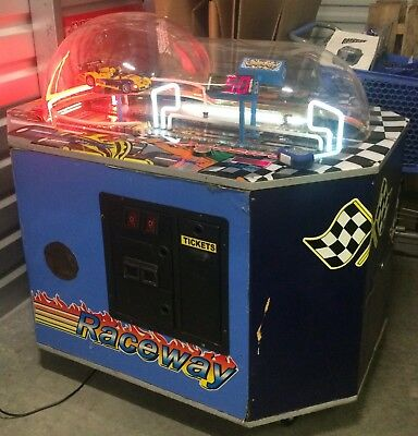 RACEWAY Ticket Redemption Arcade Game! SHIPPING AVAILABLE!