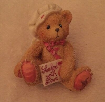 Cherished Teddies - From My Heart - 869074 - Boy Sitting with Letter