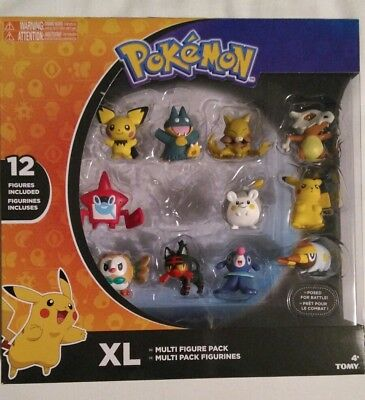 """Tomy 1"""" Pokemon Figures - Individual - Brand New out of box - You Choose."""