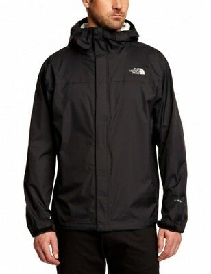 The North Face Men's Venture Jacket, Size Lg, Black, RRP$220, Water & Wind Proof