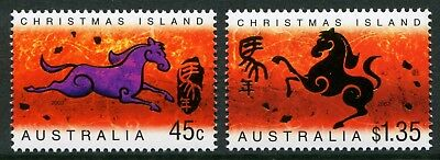 Year Of The Horse 2002 - Mnh Set Of Two (Bl332-Rr)