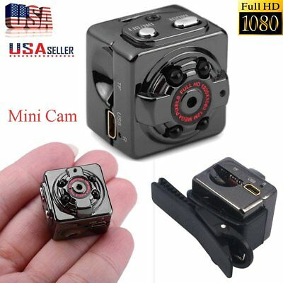 HD 1080P Min Spy Camera Hidden Pinhole  Motion Detection Video Recorder Cam