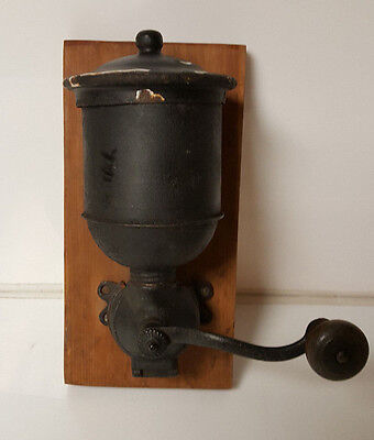 Antique Wall Mount Coffee Grinder
