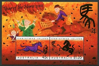 Year Of The Horse 2002 - Mnh Minisheet (Bl328-Rr)