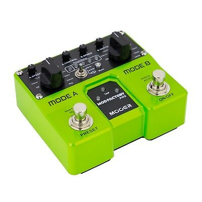 NEW Mooer Mod Factory Pro Twin Dual Electric Guitar Effects Pedal Modulation