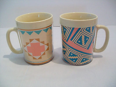 Two Charles Totaro Design Thermo Serv Insulated Mugs, 1988