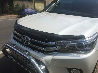 Genuine Toyota Hilux Tinted Bonnet Protector (Aug 2015 - Current)