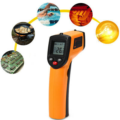 GM320 Non-Contact LCD IR Laser Infrared Digital Temperature Thermometer Tester