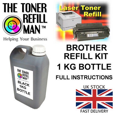 Brother Toner Refill  - For The Brother DCP-7010 Printer TN2000 3 X 90g KIT