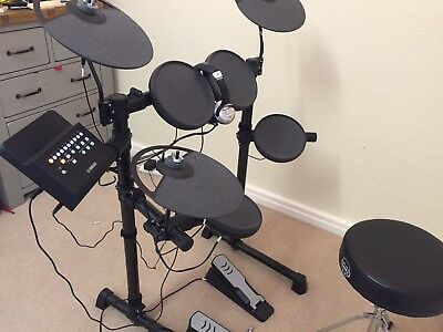 Yamaha DTX400 Electric Digital Drum Kit with drum stool
