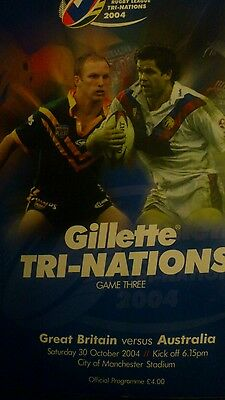 Great Britain vs Australia 2004