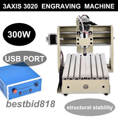 USB Router CNC 3020T 3 Axis Engraver Milling Macchina di incisione fresatrice