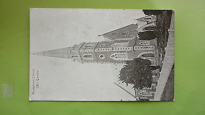 EARLY 1900s SOUTH AUSTRALIAN POSTCARD, MOUNT GAMIBER PRESBYTERIAN CHURCH
