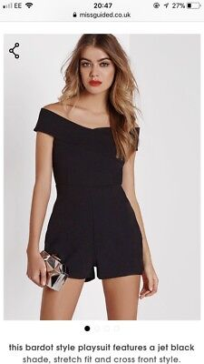 Missguided playsuit Black 8