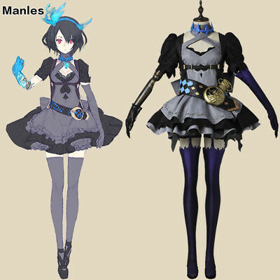 a6c76b873bce7 SINoALICE Alice Costume Cosplay Steampunk Gothic Dress Halloween Christmas  Suits