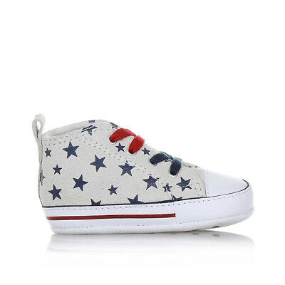"CONVERSE Scarpe BAMBINO ""First Star Hi"" NEW Neonato NUOVE Stelle SNEAKERS Aw Ag"