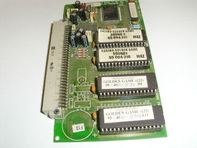 BFM Bell Fruit Machine pcb-2002-Casino golden game Sound Prom Game Card 36801002