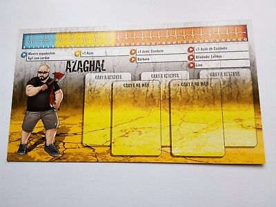 ZOMBICIDE Gaming Night #3  AZAGHAL ID CARD PORTUGUES