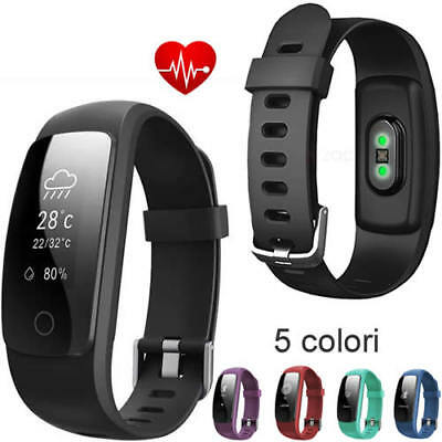 SMARTWATCH CARDIOFREQUENZIMETRO FITNESS TRACKER SPORT BAND HEART GPS ANDROID iOS