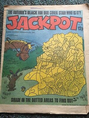 2 Copies Of Jackpot Comics