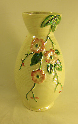 "Collectable Vintage Maling Vase Lustre Ware 9.5"" Tall (WH_1696)"