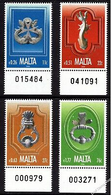 Malta 2008 Door Knockers Complete Set SG 1586 - 1589 Unmounted Mint
