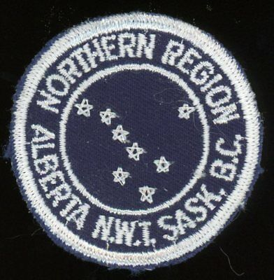 Northern Region (Alberta, Extinct) - the original round badge