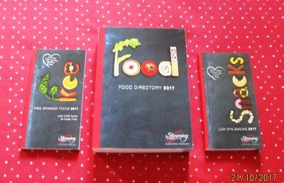 NEW! 2017 Slimming World Food Directory, Snack & Free Branded Books, Post Today!