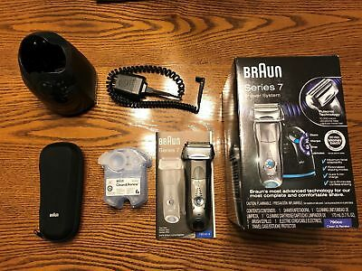 Braun Series 7 790cc-4 Men's Electric Shaver with Clean & Recharge Station