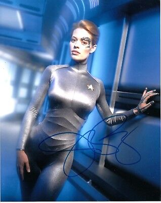 Jeri Ryan Signed Sexy Star Trek Voyager Photo Television Autographs