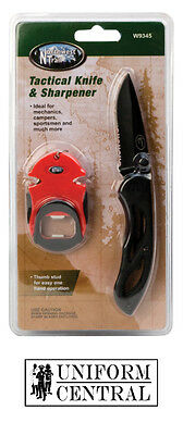 NEW Northwest Trail Tactical Knife - Sharpener & Bottle Opener - Camping - W9345