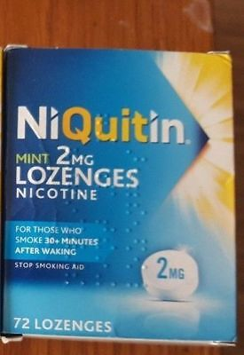 NIQUITIN MINIS 1.5mg / 4mg MINT X 40 Lozenges (Choose Strength)