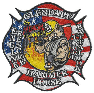 Glendale Fire Dept. Engine 21 New October 2017 (California)  Fire Patch