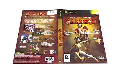 GALLEON : ORIGINAL COVER (ARTWORK/SLEEVE) ONLY, xbox