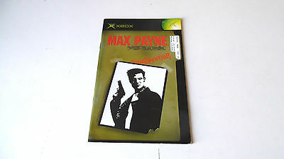 MAX PAYNE INSTRUCTION MANUAL (BOOKLET) ONLY, xbox