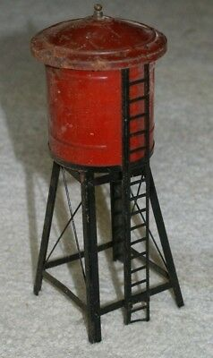 American Flyer water tower for O gauge set, old