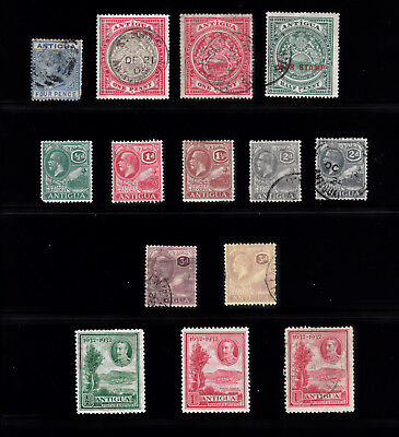 Antigua Small Lot Mainly Gv Issues M/u