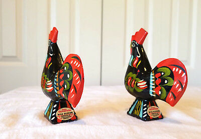 Vintage Nils Olsson dala roosters from Sweden