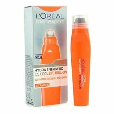 L'oreal - Men Expert Roll'on Yeux 10 Ml Hydra Energetic