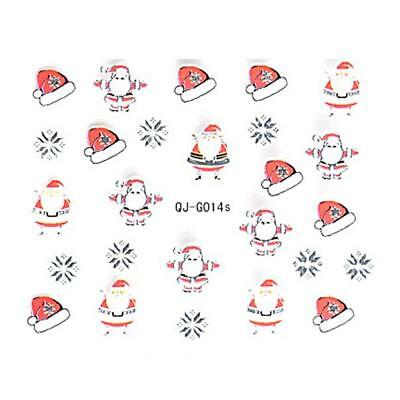 Christmas 3D Nail Art Stickers Decals For Nail Tips Decorations*