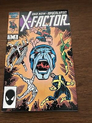 Marvel X-Factor #6 key issue first full appearance Apocalypse Rubinstein cover