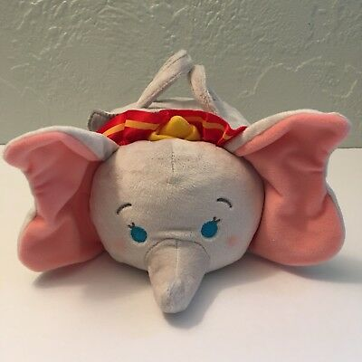 NEW Disney DUMBO TSUM TSUM SET W/ 4 MINIS Dumbo Plush Case Timothy Elephants NWT