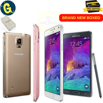 Samsung Galaxy Note 4 Sm-N910F Black 32Gb Unlocked Simfree Android  Smartphone Uk cee2cb137b0a