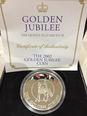 Golden Jubilee 2002 Uncirculated 50 Pence Coin