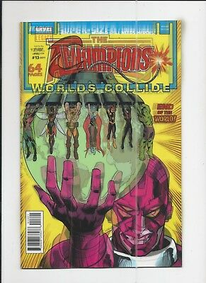 Champions #13 Lenticular Variant Cover near mint (NM) condition